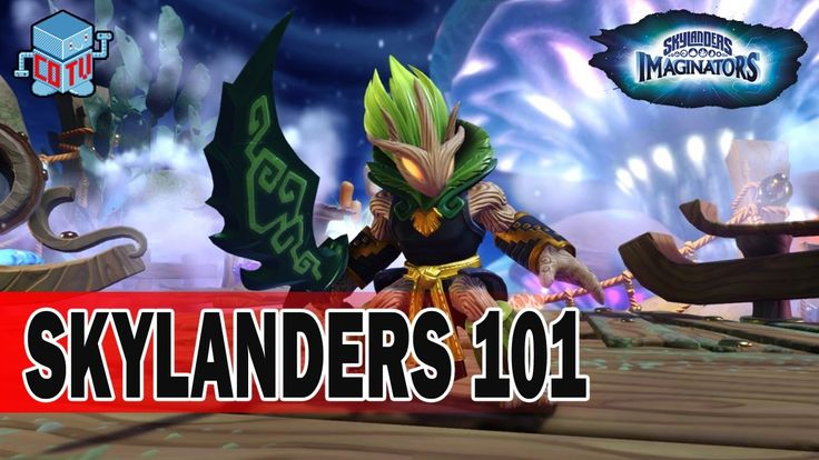 Skylanders 101 AMBUSH