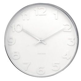 Mr White Wall Clock