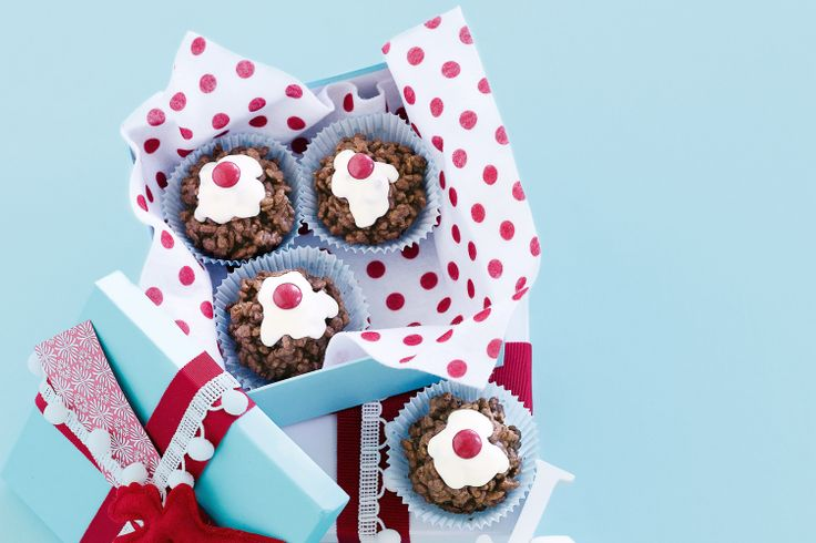 Snap, crackle and pop your way through these yummy chocky puddings.