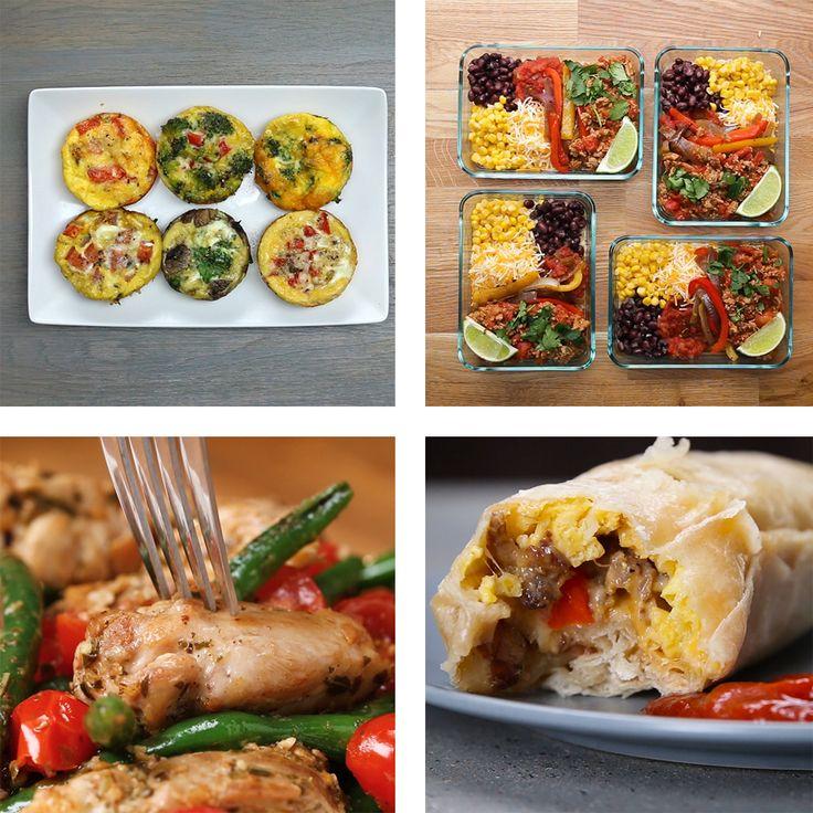5 Meal Prep Recipes
