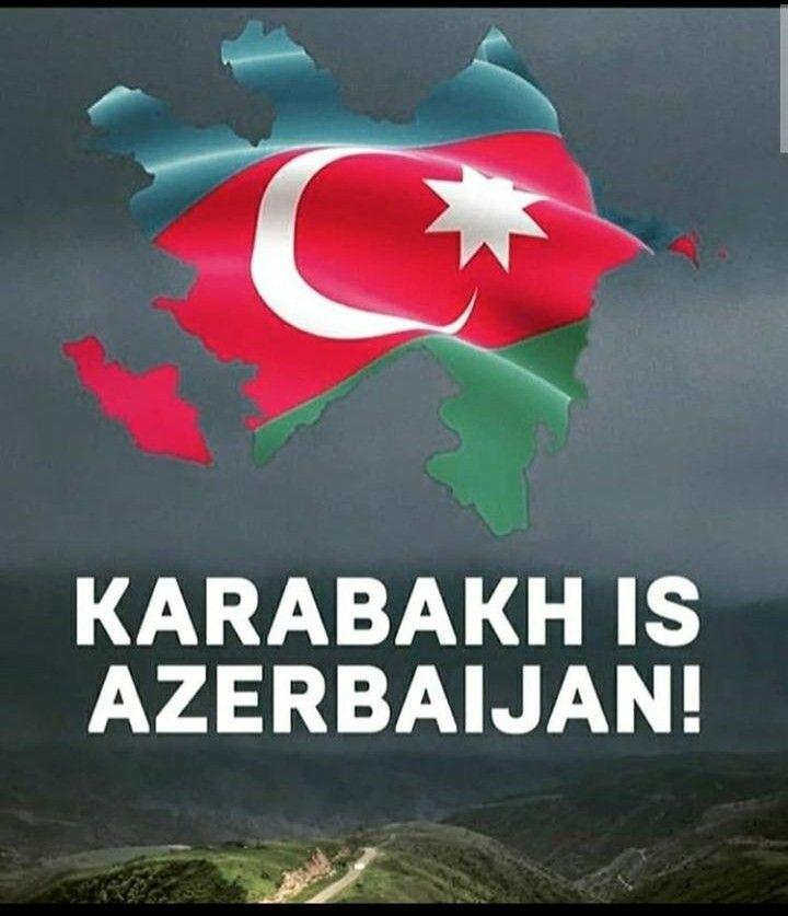 Karabakh Is Azerbaijan Azerbaijan Flag Azerbaijan Baku Azerbaijan
