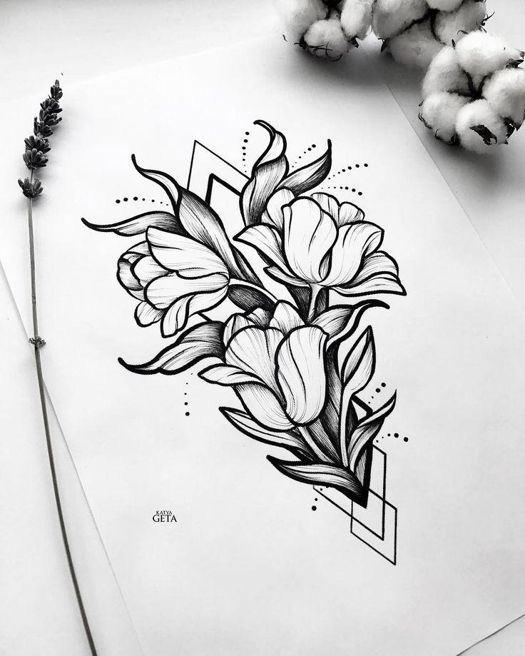 набросок стильный цветок фото шары, которыми пестрит