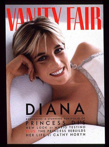 PRINCESS DIANA ON VANITY FAIR COVER Jordan McKay vanity fare - Vancouver
