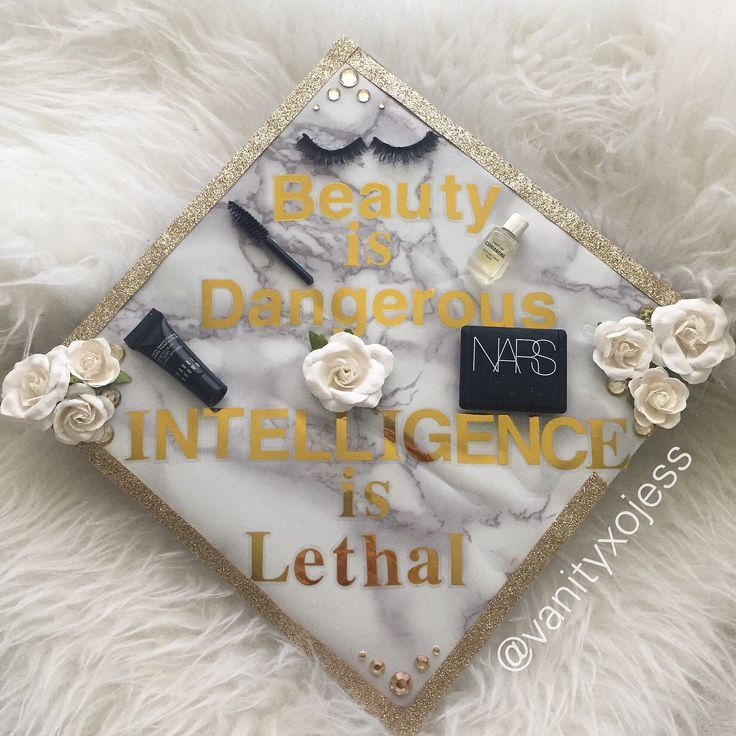 My SFSU Class of 2017 Graduation Cap!! Beauty is Dangerous Intelligence is Let