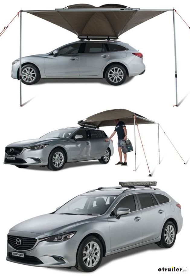 Rhino Rack Dome 1300 Awning Roof Rack Mount Bolt On 64 Sq Ft Rhino Rack Car Awning Rr32125 Car Awnings Roof Rack Awning Roof