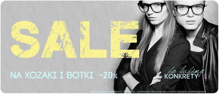 SALE  !!! botki, kozaki w CASU.pl