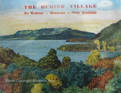 The Buried Village of Te Wairoa - the Library has Gordon Ell's book and also an earlier publication by Kenneth Melvin. The earlier book is in the Don Stafford Room, our heritage collection on the 2nd floor.