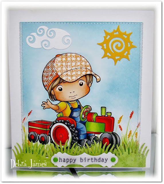 Inspiration Monday- Bright Birthday