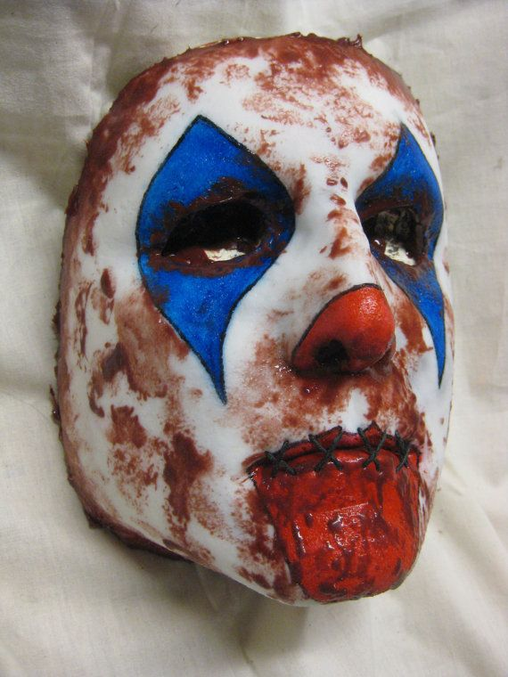 Face Mask  Clown / Superhero Face Option Must by shoggothassembly, $15.00
