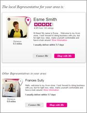 Profil   AVON Online üzlet megnyitása