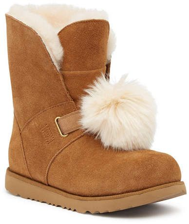 d5a252e3c4a UGG Australia Isley Pompom Boot (Baby, Toddler, & Little Kid ...