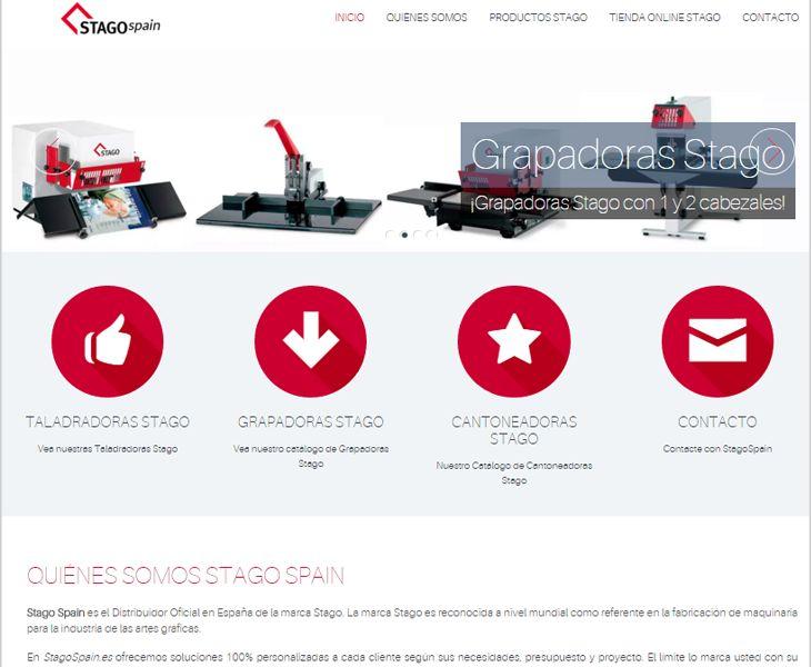 Exceptional Www.stagospain.es #diseño #web #blog #wordpress #generatepress #