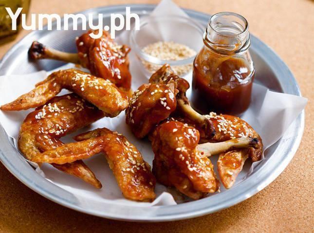 Tamarind-glazed Chicken Wings and Pops Recipe | Chicken | Pinterest ...
