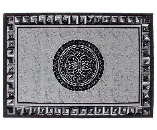 Ковер- полиэстер - Серый, черный, 200х290 см