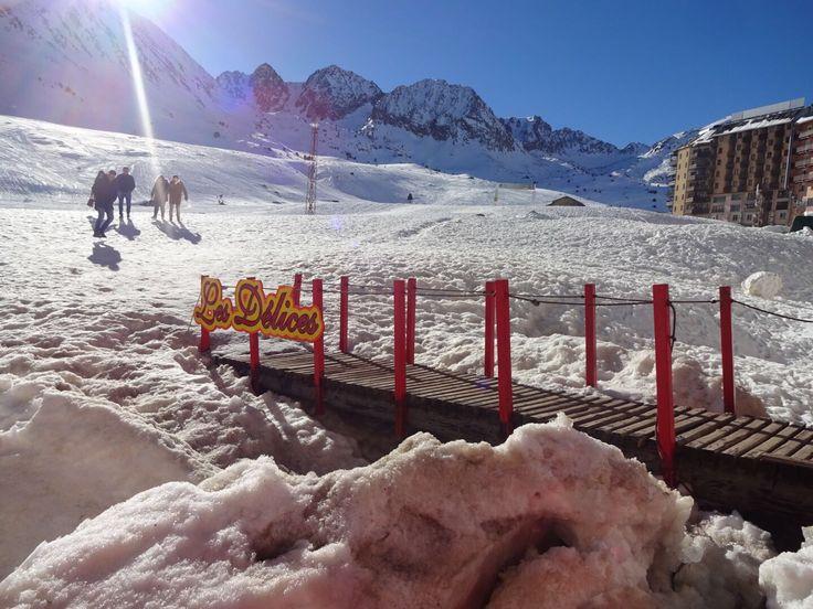 Ski weather in Pas de la Casa, Andorra