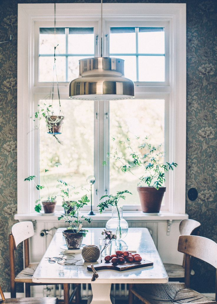 Kitchen, dining room | home of, and photo by Kristin Lagerqvist, Krickelin