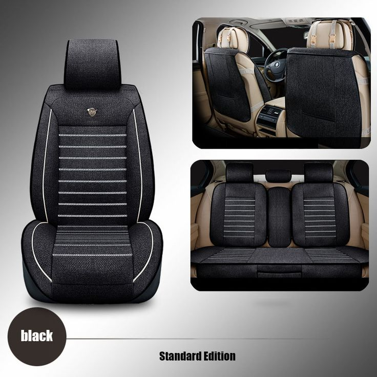 linen Universal car seat cover For Dacia Sandero Duster