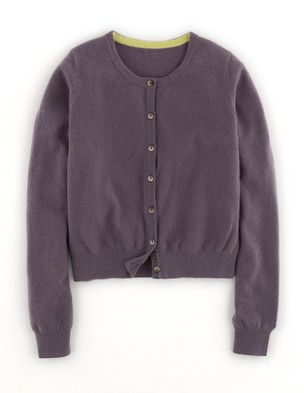 Cropped Cashmere Cardigan, Boden