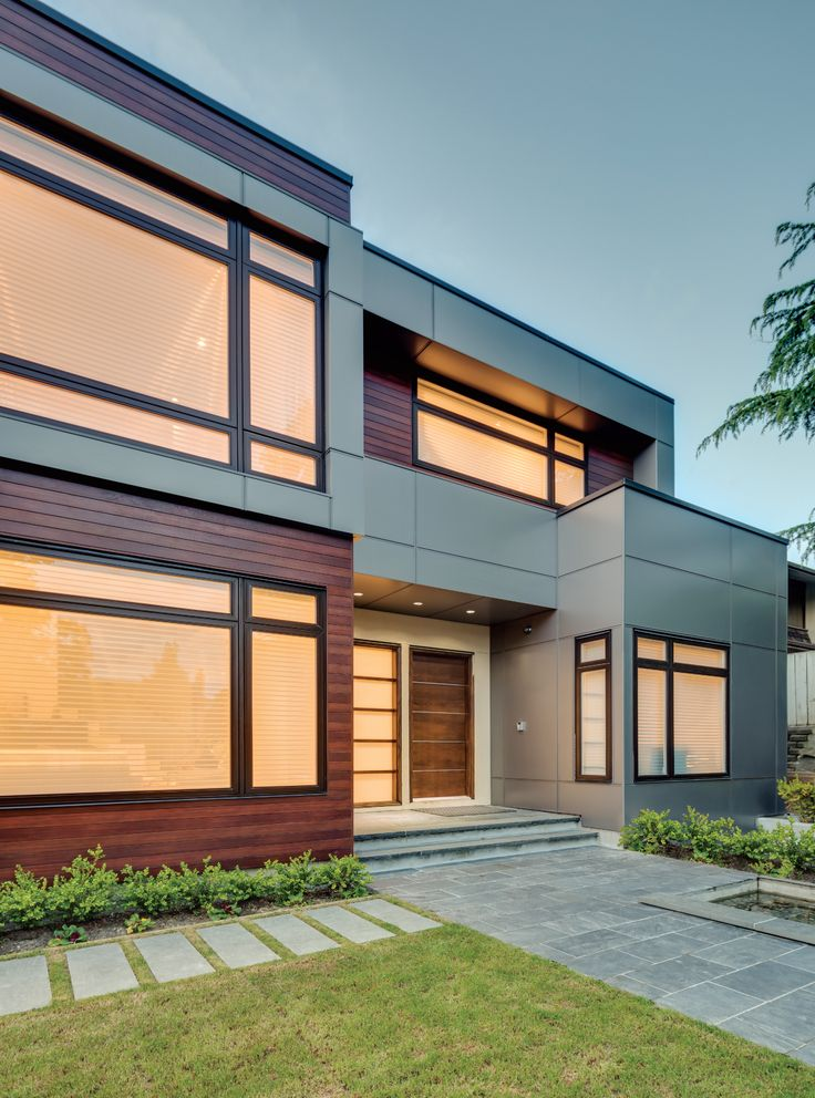 90 best fiber cement board exterior images on pinterest for Modern house siding solutions