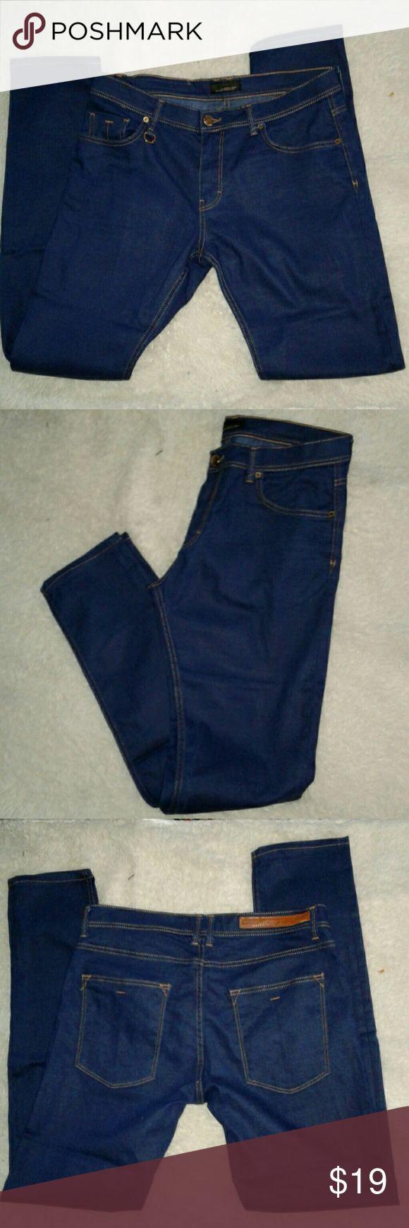 BLACK TAG BY ZARA MAN BOOTCUT JEANS AND ZARA MAN DENIM WARE, GOLD CONTRAST STITCHING, 5 POCKETS, SIGNATURE HARDWARE, TRUE TO SIZE ZARA MAN Jeans Bootcut