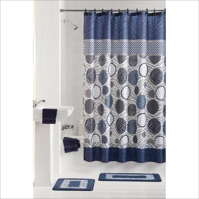 Bathroom Shower Curtain And Rug Set Bathroomrugs Shower Curtain