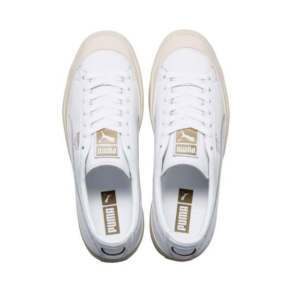 Puma: Clyde Rubber Toe Leather