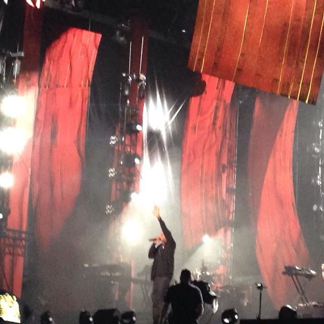 Jay-Z at the Global Citizen Festival 2014