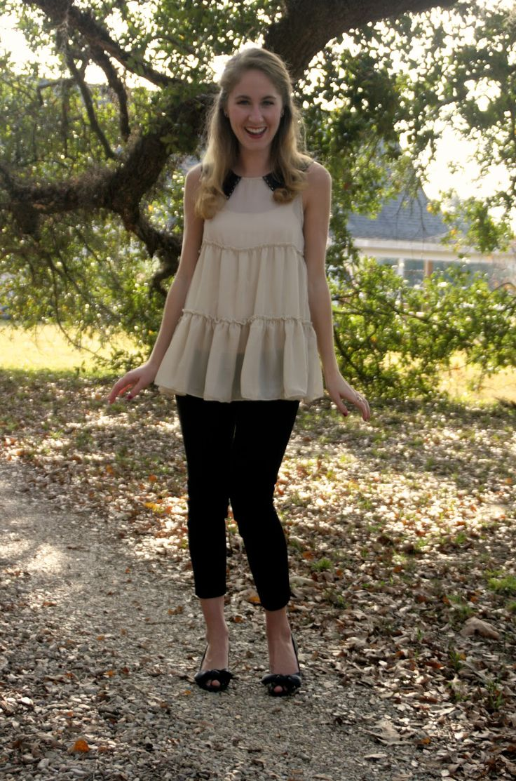 Breakdown: blouse- Marshall's, pants- thrifted J. Crew, shoes- BCBG outlet (old) Happy Thanksgiving, my U.S. friends! My fa...