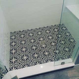 Possibly Find A Similar Tile For Master Shower Floor Some Sort Of Subway Type On Walls