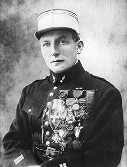 Lieutenant Charles Nungesser  Une belle petite collection de médailles !