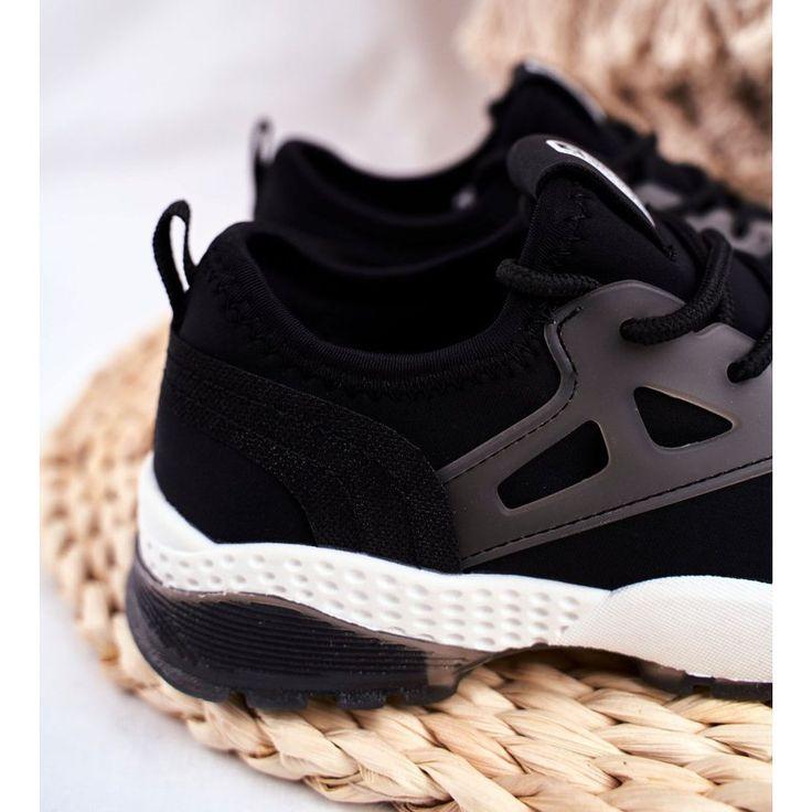 Sportowe Dzieciece Big Star Czarne Ff374147 Sneakers Nike Nike Huarache Shoes