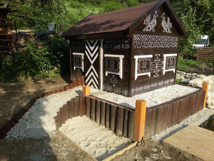 goose houses- Slovakia