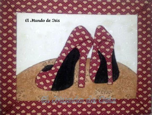 Zapatos con corazones