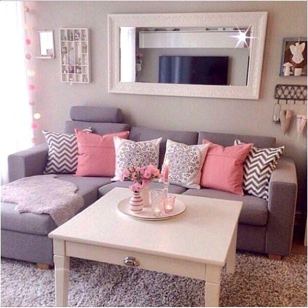 Sala De Estar Roxa E Cinza ~ Cinza e rosa!  Sala estar  Pinterest  Café, Mesas e Mesas de
