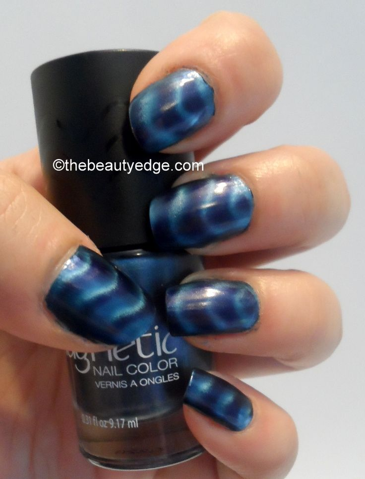 New line of nail polish from Sally Hansen. Magnetic nail color. It ...