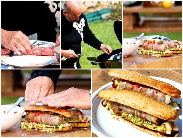 Domácí hot dog s chipotle salsou, Foto: Hermína / Prima