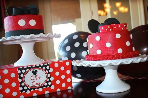 Fantastic Mickey And Minnie Birthday Party Ideas Party Partyideas With Funny Birthday Cards Online Overcheapnameinfo