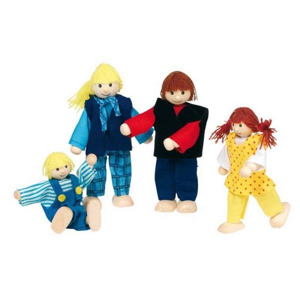 Goki Buigpoppetjes jonge Familie