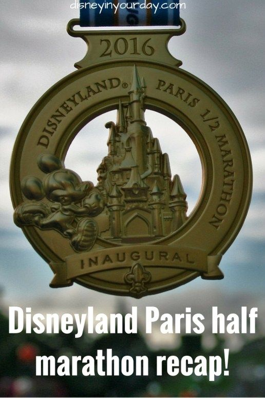 A recap of the inaugural Disneyland Paris half marathon!  About the course, conditions, characters, and more!
