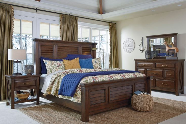 Windville's gorgeous panel bed! Exclusive to Ashley