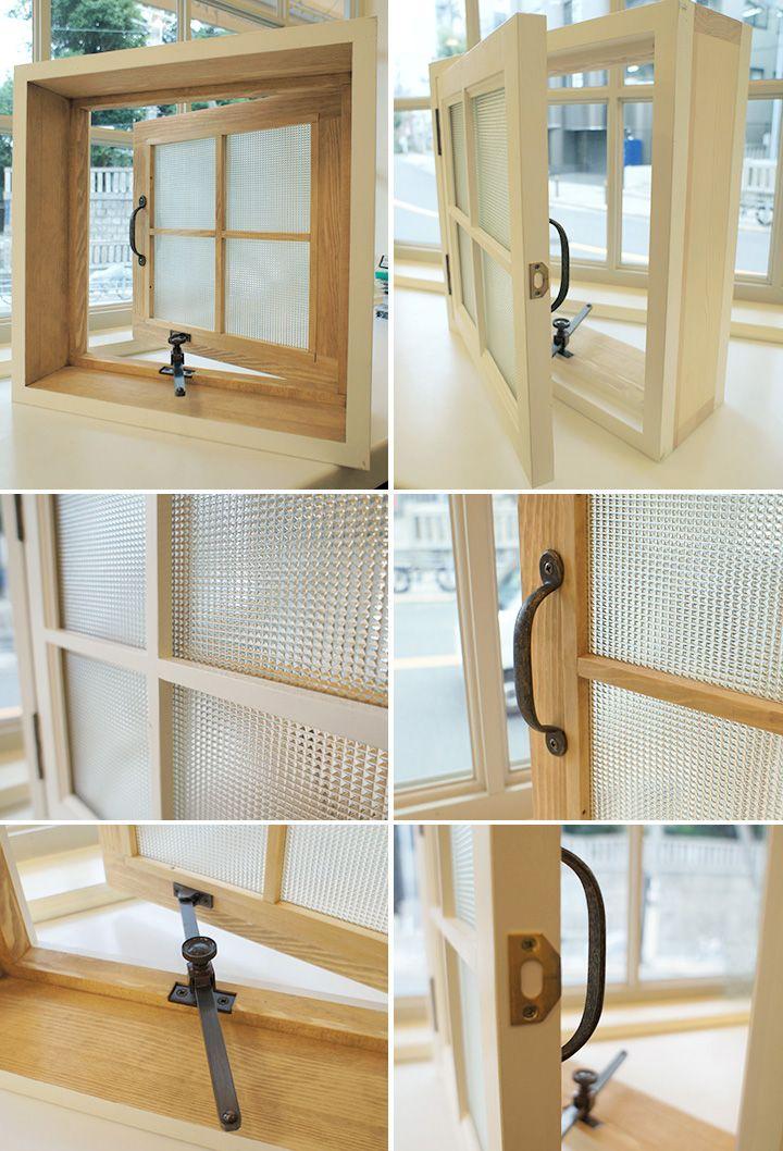 楽天市場 格子付き 木製窓 400x400x厚み130mm Wmk H400 各カラー