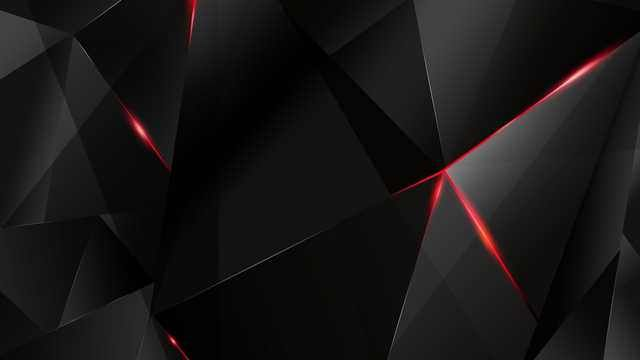 Low Poly Wallpapers Post Red And Black Wallpaper Black Wallpaper Red Wallpaper