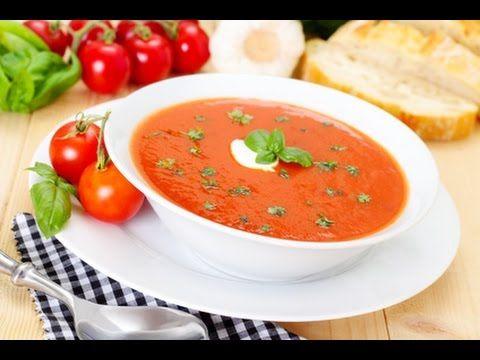 Tomatensuppe rezept einfach schnell - Tomatensuppe selber machen