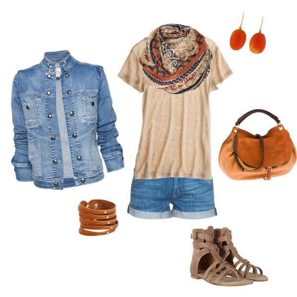 I don't know about the jean jacket with jean shorts... But live everything else!