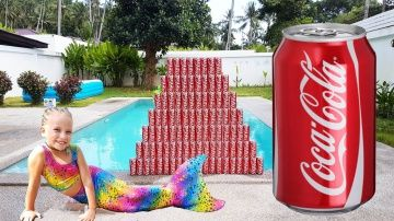 Bad Baby КОКА КОЛА ЧЕЛЛЕНДЖ Джокер Русалка CRAZY AMAZING COCA COLA pyramid CHALLENGE Joker & Mermaid http://video-kid.com/19732-bad-baby-koka-kola-chellendzh-dzhoker-rusalka-crazy-amazing-coca-cola-pyramid-challenge-joker-.html  Alice builds a tower of Coca Cola, and it lacks a single cans of Coca Cola, Alice is going to the store by car coca cola, but this time the evil Joker came and broke tower of Coca Cola. Joker escaped, and Alice is crying! Alice comes to the rescue Nicole, drink Coca…