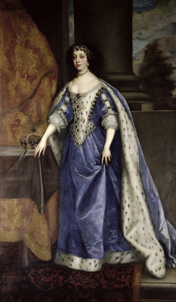 Charles II's Queen consort, Catherine of Braganza, 1638-1705 by Sir Peter Lely
