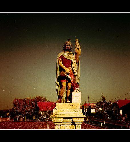 Szent Flórián, a tűzoltók védőszentje / Saint Florian, Patron Saint of Firefighters - Szajk, Hungary