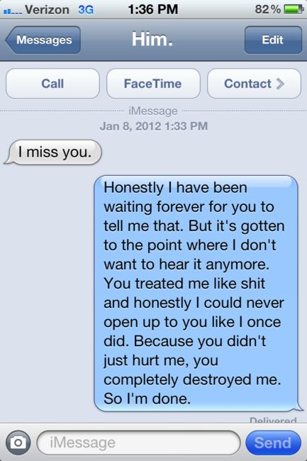 This is exactly what I need to say.: Texts, Breakup Quotes, Oneday, Remember This, Every Girls, Go Girls, Heart, Truths, Girls Life