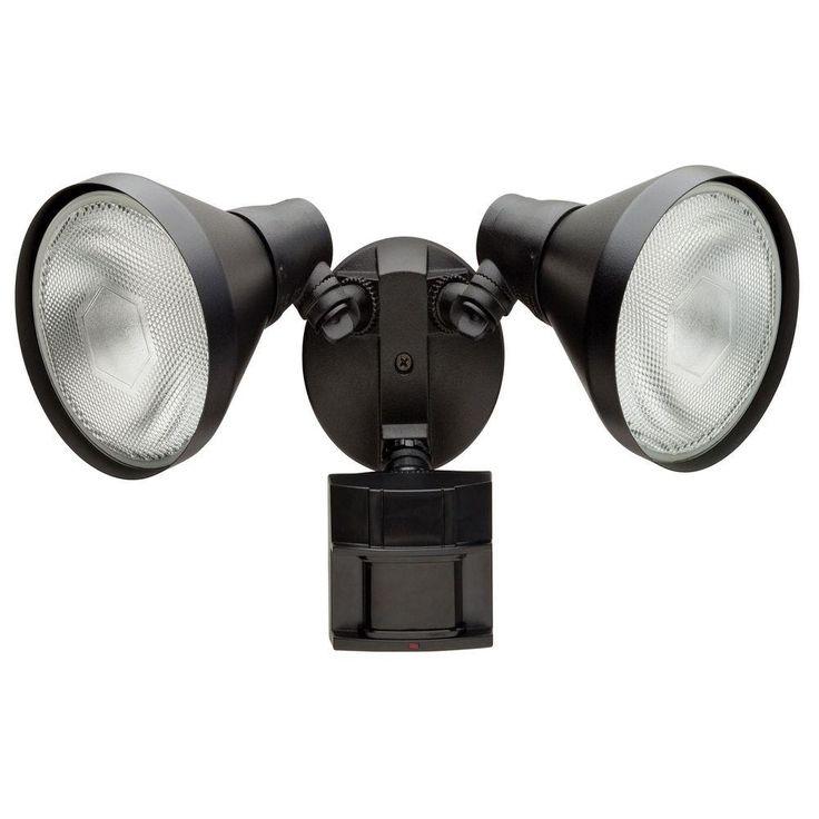 35 Defiant 180 Degree Outdoor Black Motion Sensing Security Light DF 5416. 15 Must see Outdoor Security Lights Pins   Security camera  Go to