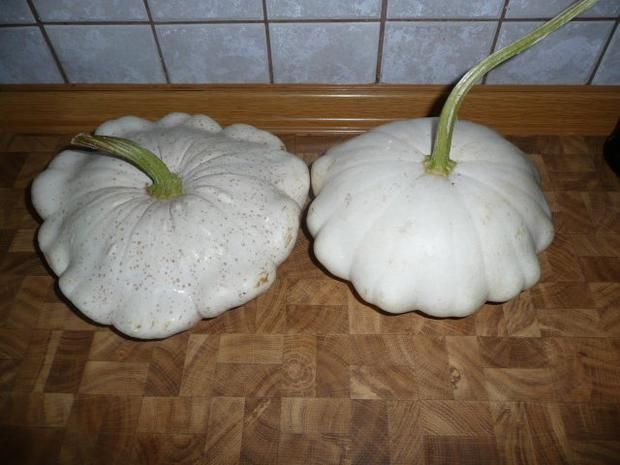 Rezept: Patisson - Kürbis- Schnitzel